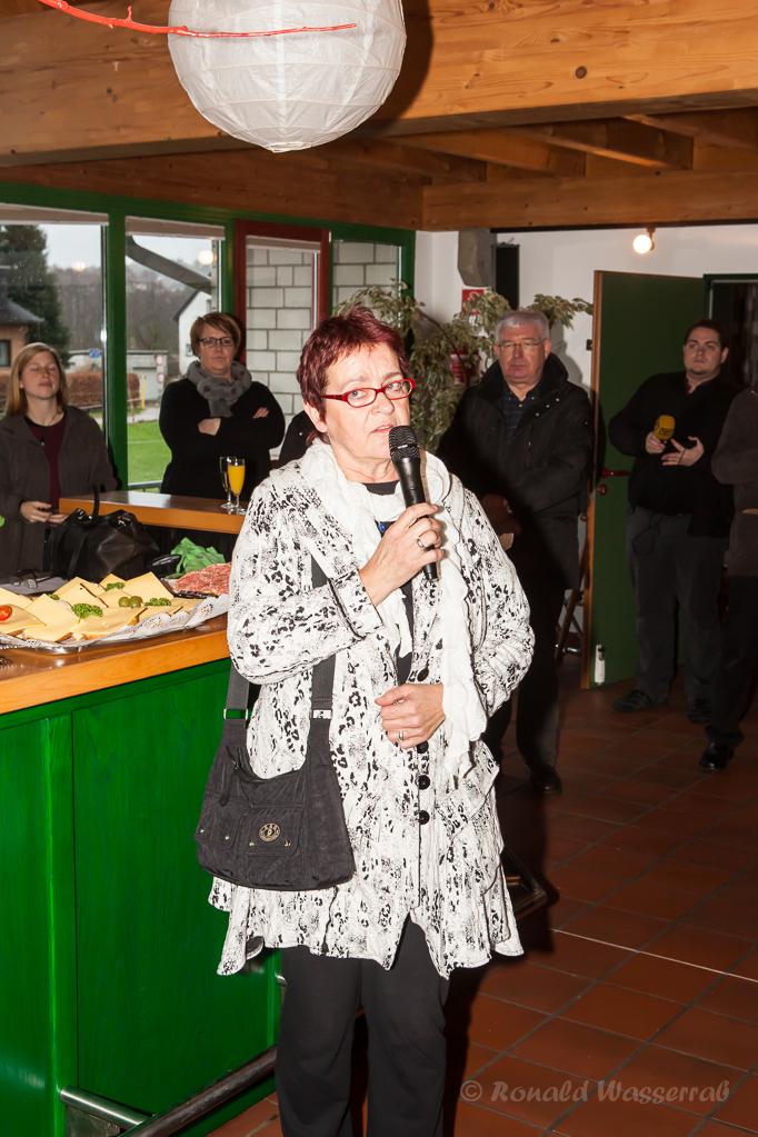 Die stellvertrewtende Landrätin Frau Hohn