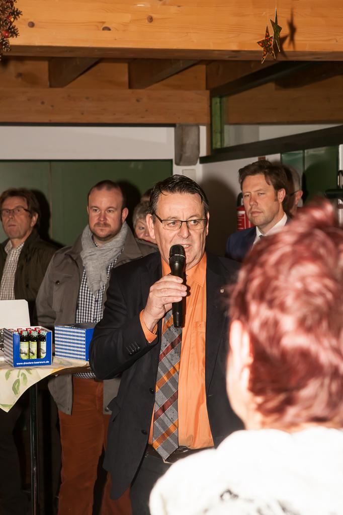 Ansprache des Bürgermeisters Axel Buch