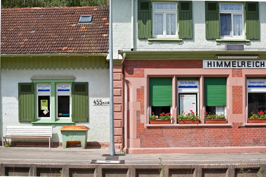 Wandern überm Himmelreich - Bahnhof Himmelreich