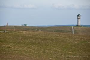 Wandern überm Himmelreich - Blick zum Seebuck vom Feldberggipfel aus
