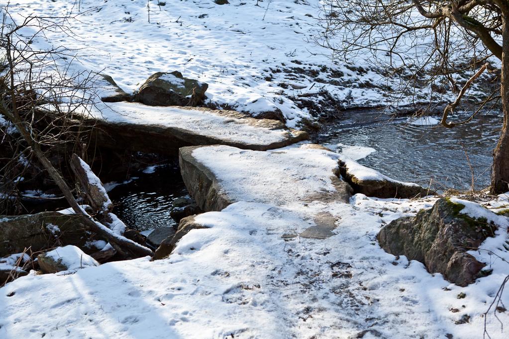 Brücke ueber die Kall zwischen Simmerather Mühle und Bickerath