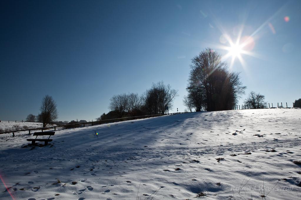 Hexenplatz im Winter