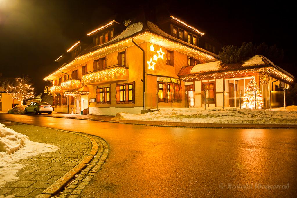 Hotel Alpenblick Höchenschwand zur Weihnachtszeit
