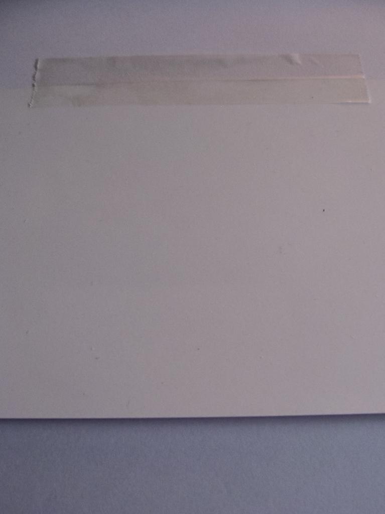 filmoplast richtig (horizontal) aufgeklebt
