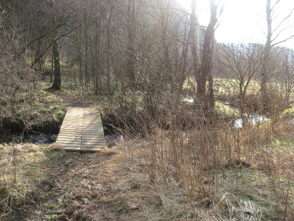 Brücke über die Olef