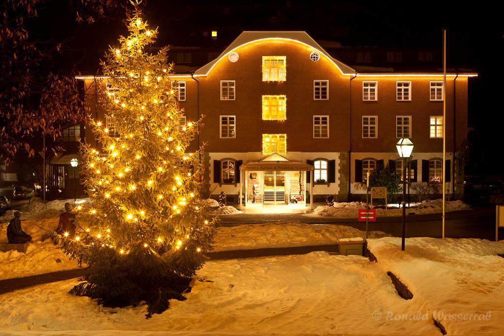 Kurhotel Porten Höchenschwand zur Weihnachtszeit