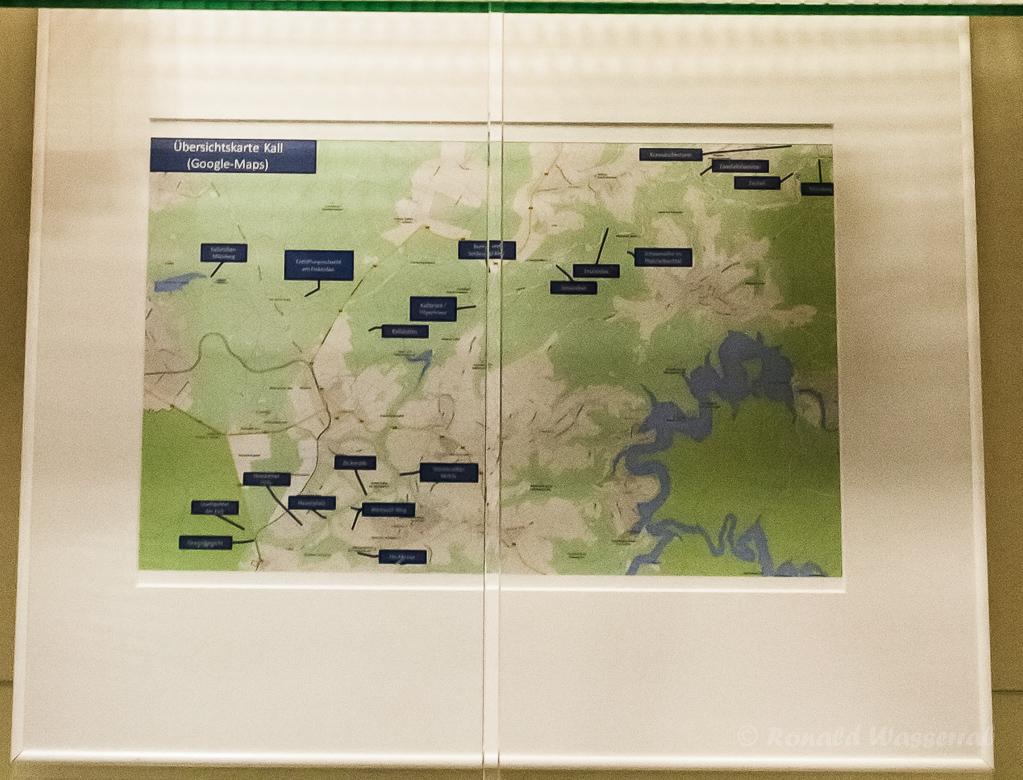 Karte der Aufnahmeorte
