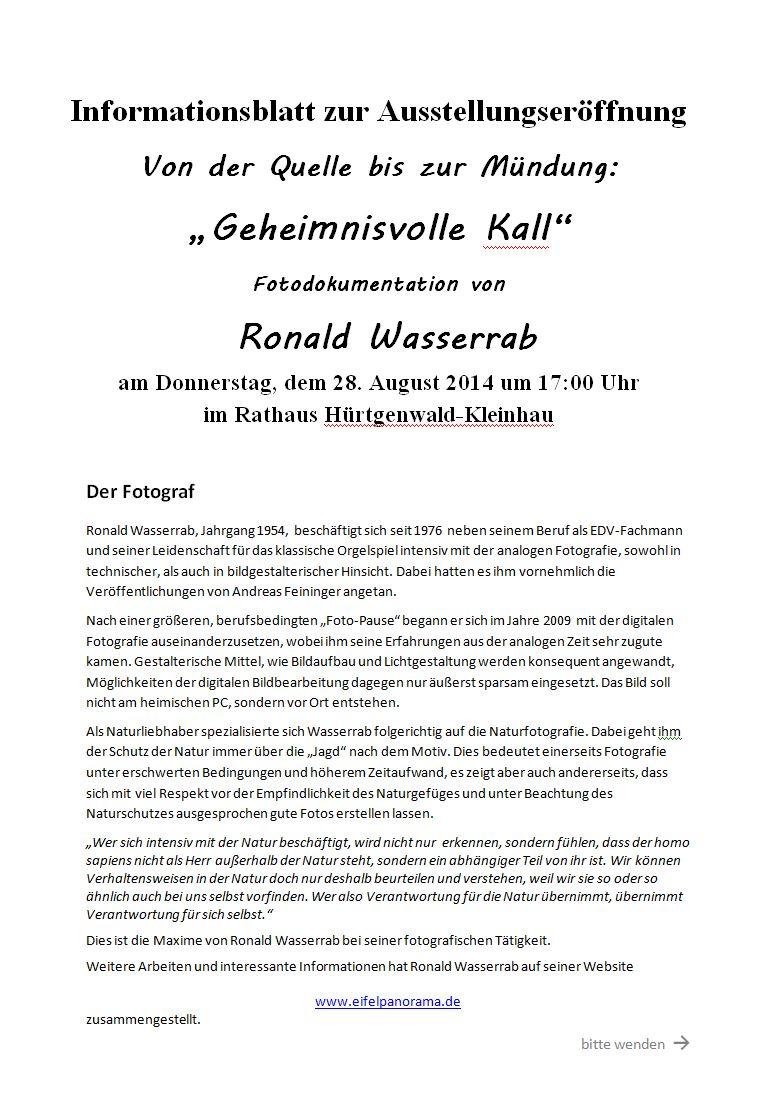 Presse-Info-Blatt Seite 1