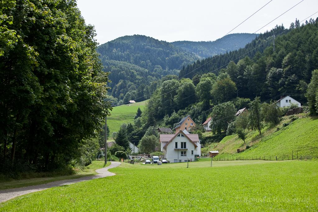 Wandern überm Himmelreich - Weg und Siedlung am Höllenbach