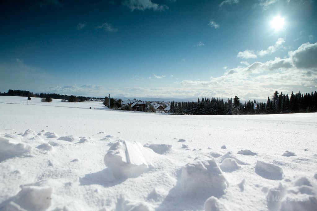 Sonnenweg Höchenschwand im Schnee