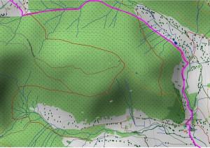 Wandern überm Himmelreich - Karte 10: Albweg, Albfall, Parkplatz Menzenschwand Hinterdorf