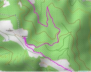 Wandern überm Himmelreich - Karte 4: Höfener Hütte und Hinterwaldkopf