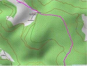 Wandern überm Himmelreich - Karte 5: Hinterwaldkopf Richtung Rinken