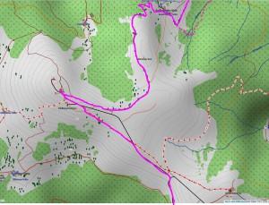 Wandern überm Himmelreich - Karte 8: Baldenweger Hütte und Feldberggipfel