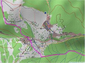 Wandern überm Himmelreich - Karte 9: Feldberg Ort Richtung Menzenschwand