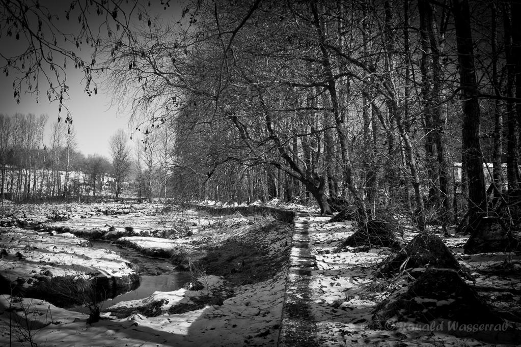 Wanderung - Westwall.Weg an der Kall in Bickerath